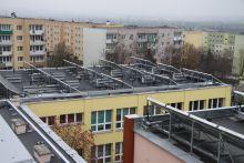 Solary na miejskiej pływalni