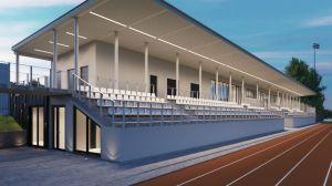 Przebudowa stadionu sportowego przy ul. Kusocińskiego w Busku-Zdroju – etap II