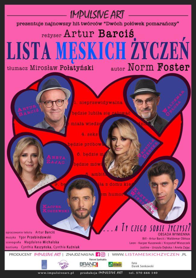 """""""Lista męskich życzeń"""" w BSCK"""