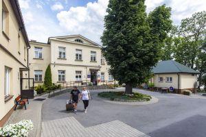 Sanatorium Mikołaj dziedziniec