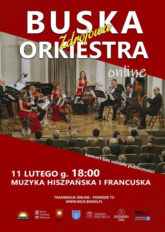 Koncert Buskiej Orkiestry Zdrojowej