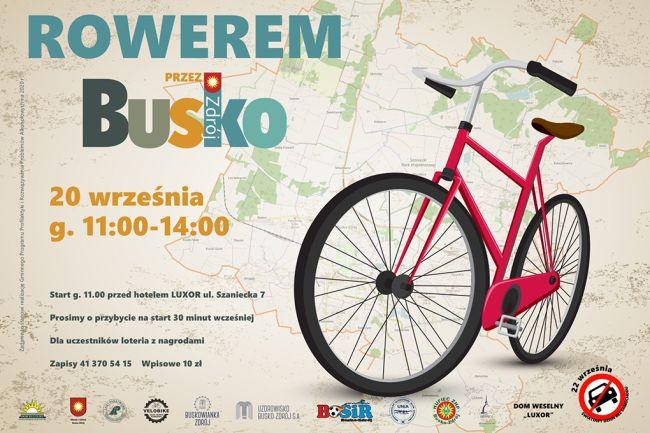 Rowerem przez Busko-Zdrój