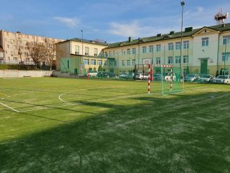 Przebudowa infrastruktury sportowej i doposażenie pracowni dydaktycznych w Publicznej Szkole Podstawowej Nr 1 w Busku-Zdroju