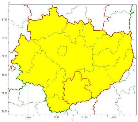 Ostrzeżenia IMGW: Opady marznące
