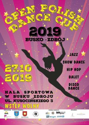 BSCK zaprasza na Open Polish Dance Cup 2019 oraz International Cheer Cup 2019