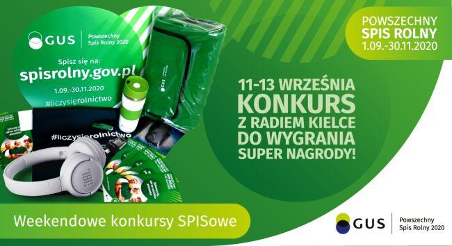 Weekendowy konkurs SPISowy z Radiem Kielce
