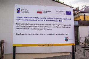 Termomodernizacja budynku Warsztatów Terapii Zajęciowej (WTZ) w Busku-Zdroju