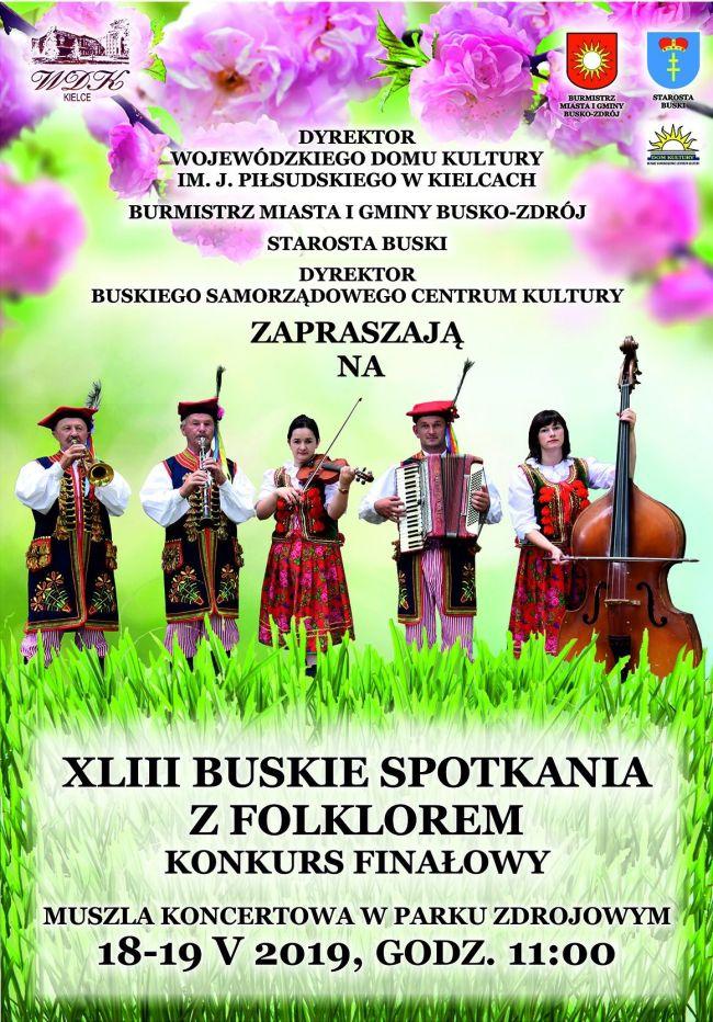 XLIII Buskie spotkania z folklorem