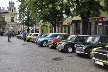 Zlot samochodów Mini w Busku-Zdroju